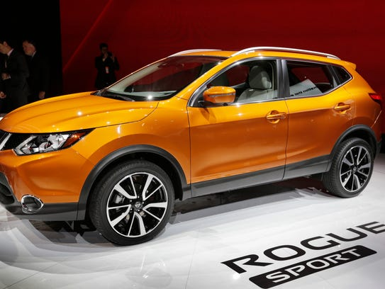 Nissan revealed the 2017 Rogue Sport during the 2017