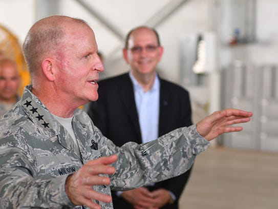Vice Chief of Staff of the Air Force Gen. Stephen Wilson