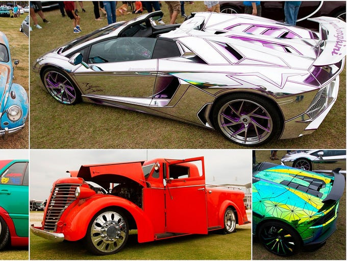 Hundreds of European cars were on display at the EuroTripper