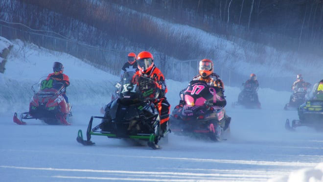 """The Upper Peninsula city of Sault Sainte Marie hosts the annual International 500, a snowmobile race known as """"Michigan's premier winter sports event,"""" on the first Saturday in February."""