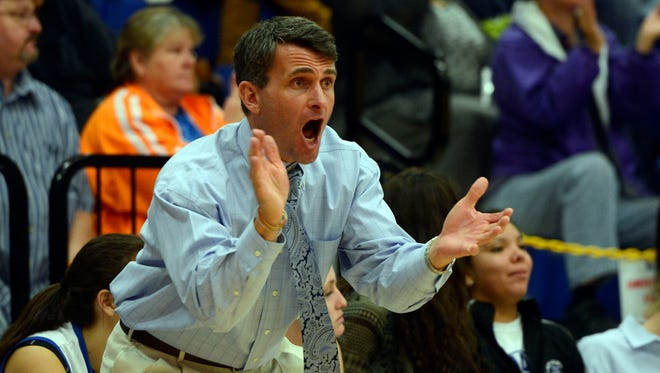Second-year coach Eric Toedtman and the Smoky Mountain girls are 10-1 after Monday's home win over Mitchell.