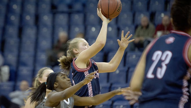 Carolina Day senior Ralene Kwiatkowski has committed to play college basketball for Fordham.