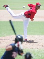 Gulf Coast League Red Sox pitcher Hildemar Requena