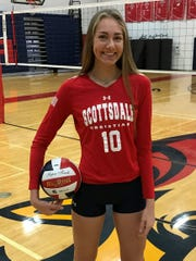 Lauren Ohlinger, Scottsdale Christian volleyball player.