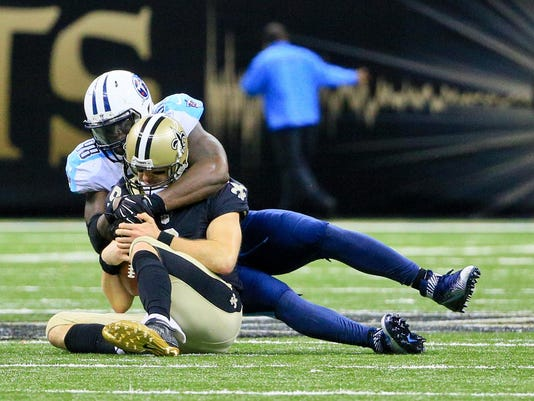 NFL: Tennessee Titans at New Orleans Saints