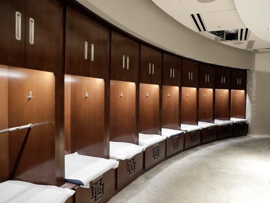 Marquette will have an expansive locker room at the