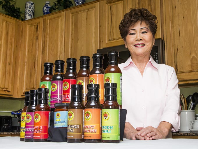 Kay Weldon of Mesa created Korean cooking sauces that