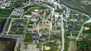 An aerial view of Alcorn County Regional Correctional Facility