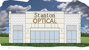 A new Stanton Optical store is being built at Highway 100 and Oklahoma Avenue. An opening date has not been set.