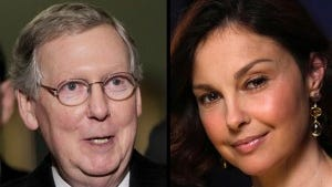 Mitch McConnell and Ashley Judd