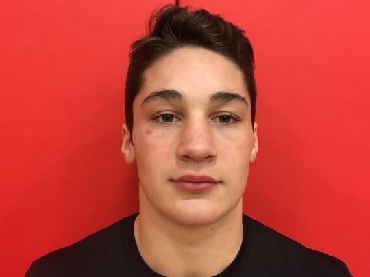 Red Hook football player Tristen Schiafo