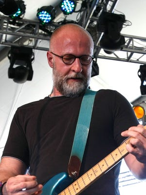 """Bob Mould performs  in 2009 in Indio, California. His latest album is called """"Patch the Sky."""""""