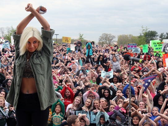 "When Jax was on ""American Idol"" in 2015, she performed in her hometown of East Brunswick. A parade and other events also took place."