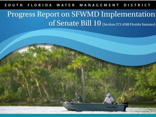 South Florida Water Management District's report on the reservoir project south of Lake Okeechobee.