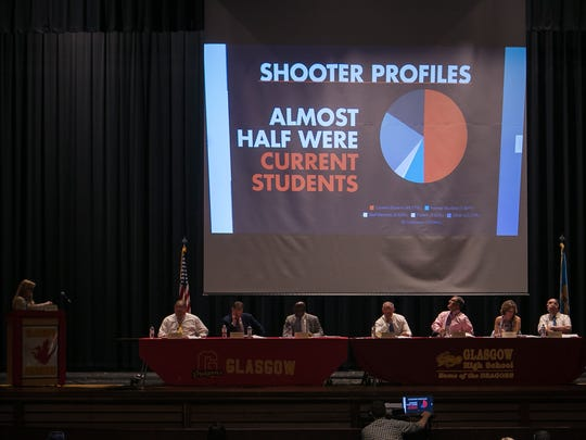 Sen. Stephanie Hansen and her legislative interns compiled information on school shootings, using media reports to paint a broader picture of school safety in the U.S.