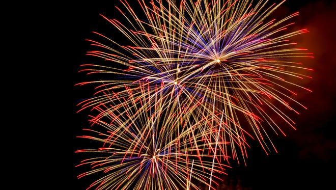 Downtown Reno will host a fireworks display on New Year's Eve.