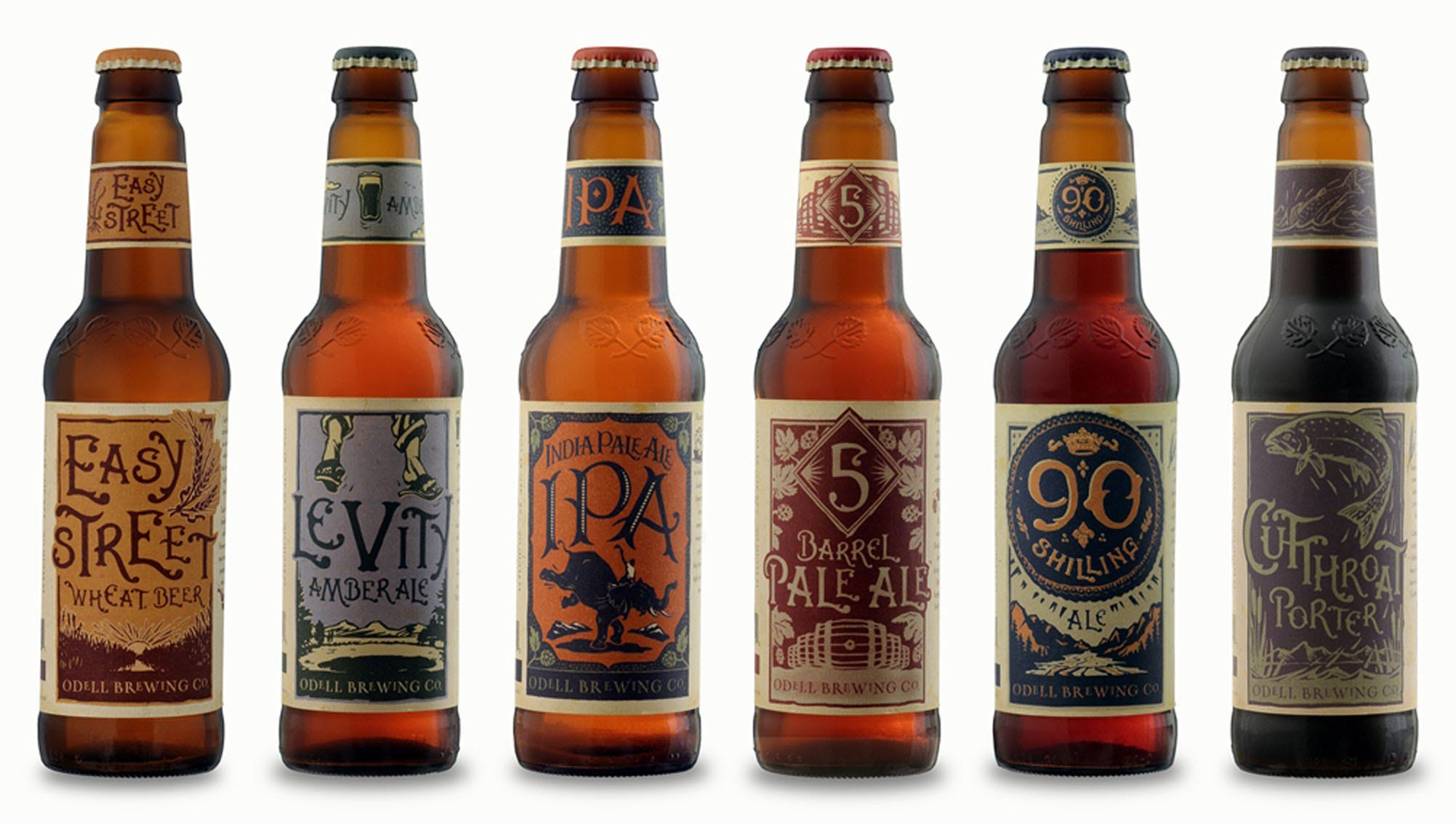 """Odell Brewing Company, Fort Collins, Colo.: More than two decades ago, this Odell family of """"beer-centric"""" people began a craft brewery north of Denver. Sure, there might be another Fort Collins, Colo., brewery that gets more attention (look further down our list to find out who), but Odell is the darling of the Colorado brew scene. """"While another larger brewery in Fort Collins gets most of the notice, Odell chugs along making some spectacularly delicious beers,"""" says Mike Sweeney of St. Louis Hops. """"Odell IPA puts a lot of West Coast breweries to shame with a perfect balance of hops and malt and then they double the effort with Myrcenary. They also try and push the boundaries of beer with their Cellar and Woodcut series and even when Odell tries and fails, you have to appreciate the effort."""" Today, the brewery has completed its fourth expansion and sponsors charities through its Odell Outreach."""