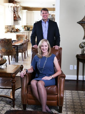 Patti Swope and husband Rich Van Camp. March 4, 2014