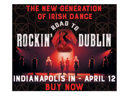 Catch the fusion of rock and Irish coming to Clowes April 12.  Insiders, save on tickets!
