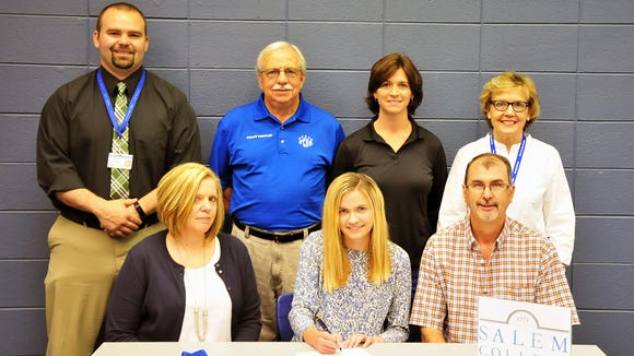Polk County senior Jessica Bailey has signed to run