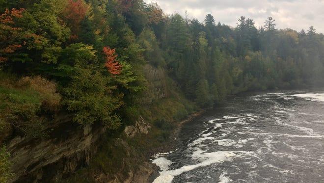 Tahquamenon Falls State Park on Oct. 7, 2017