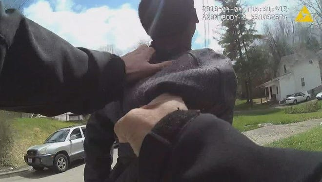 Newly-released body camera footage is shedding light on a Westwood burglary investigation that turned into a call for officers needing assistance.