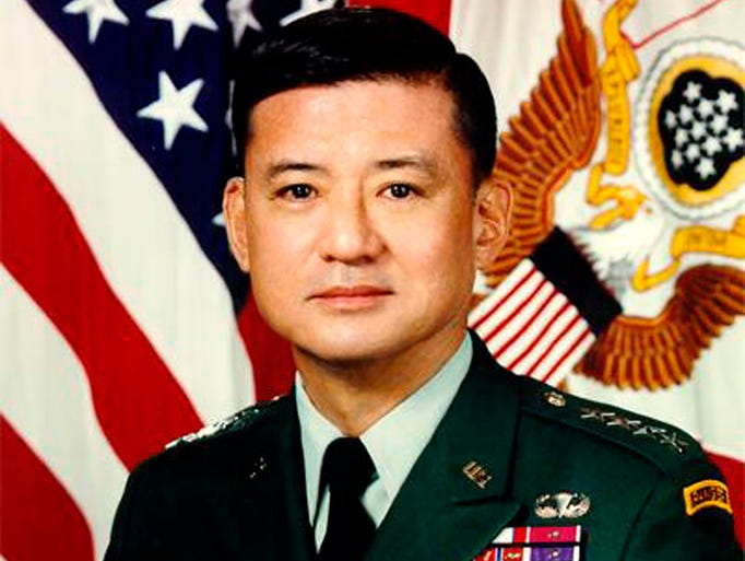 Eric K. Shinseki, the seventh secretary of Veterans Affairs, previously served asU.S. Army chief of staff. Here's the official portrait of the  general.