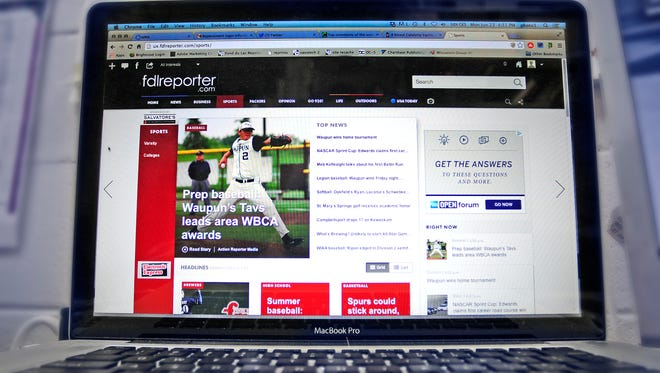 The Reporter introduced its new website at fdlreporter.com.