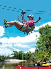 It's zip lining season at Adventures Unlimited.