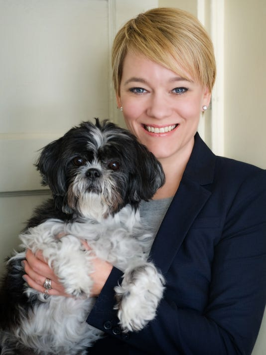 Hetti Brown and her dog Lucy