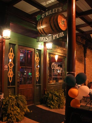 O'Riley's Irish Pub Downtown at 321 Palafox Place has added a full food menu to its offerings.
