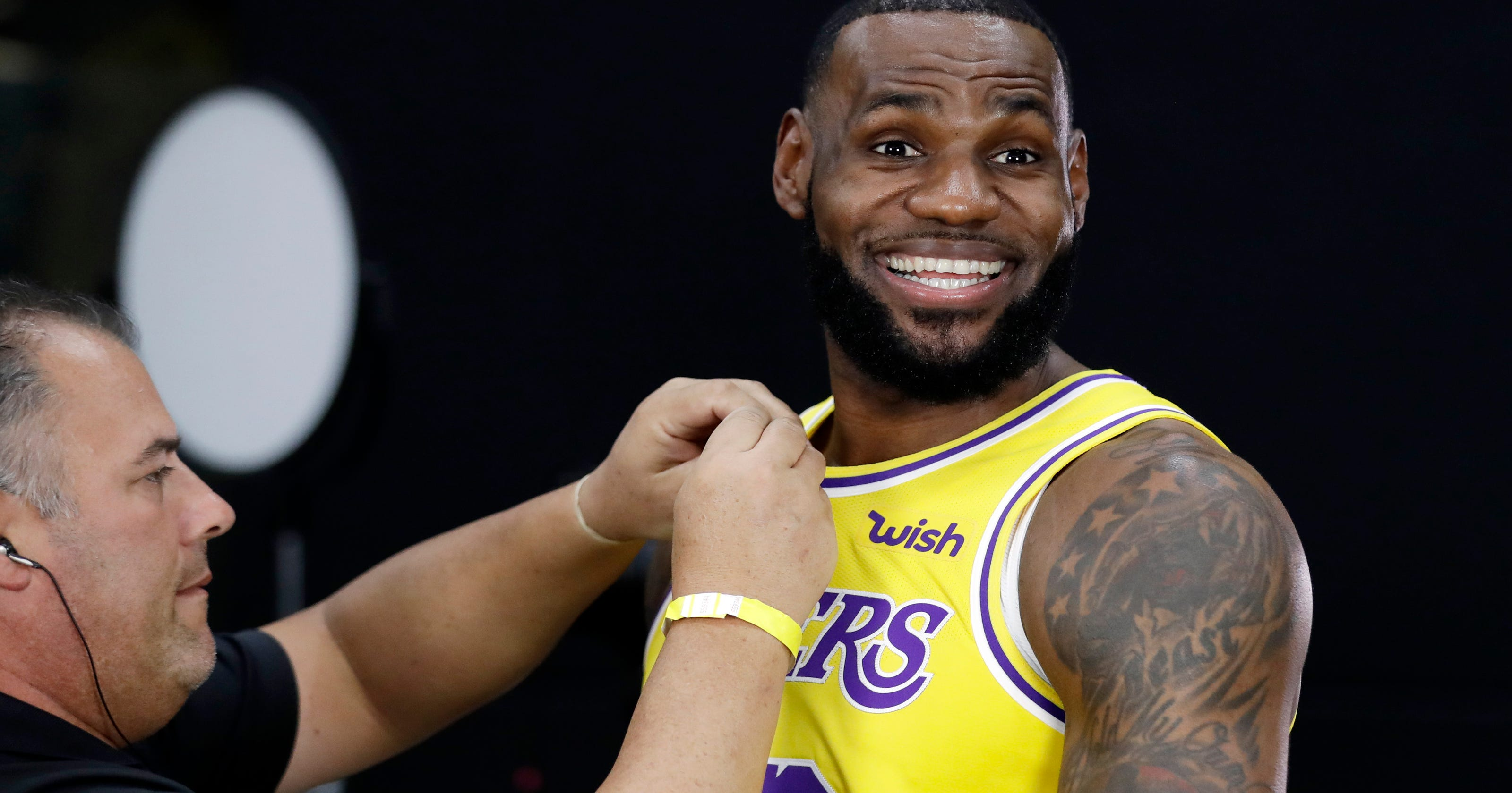 LeBron in LA  Superstar begins next chapter with Lakers bf336d8de