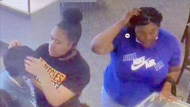 Central Ohio Crime Stoppers is offering a cash reward for information leading to the arrest of these women, who are believed to have stolen a necklace valued at more than $2,000.