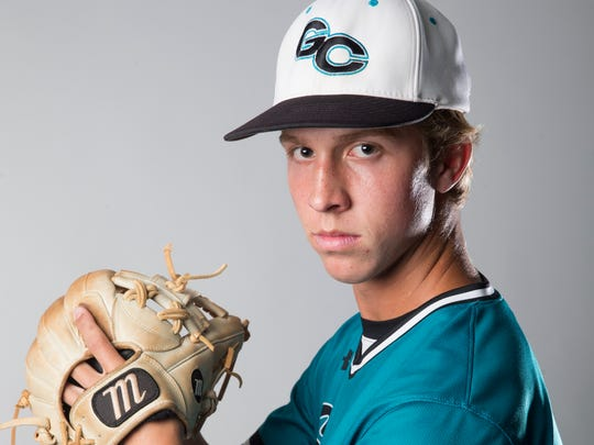 Gulf Coast High School senior and baseball player Collin Camarigg.