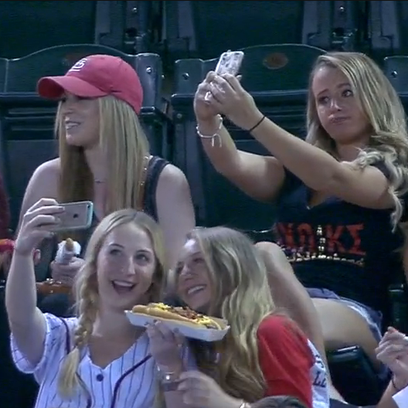 Selfie-taking women from ASU drew national attention