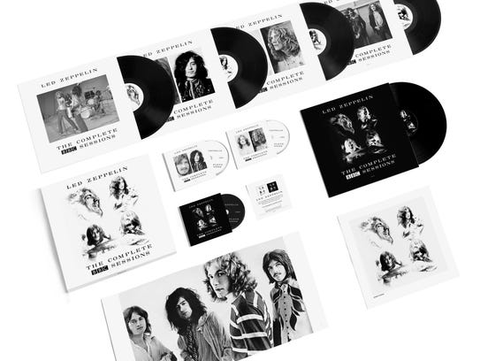 """Led Zeppelin, """"BBC Sessions,"""" deluxe set"""