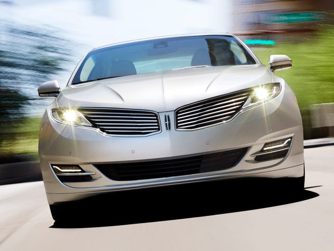 The 2013 Lincoln MKZ Hybrid, which is rated 45 mpg city, 45 mpg highway and 45 mpg combined.