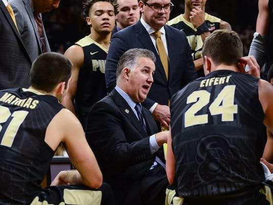 NCAA Basketball: Purdue at Iowa