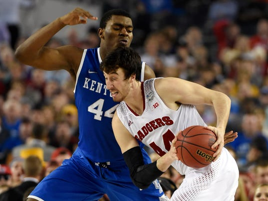 NCAA Basketball: Final Four-Wisconsin vs Kentucky