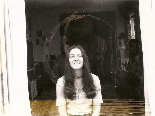 Sharon Hensley in San Francisco, around 1969, before she met Felix Vail.