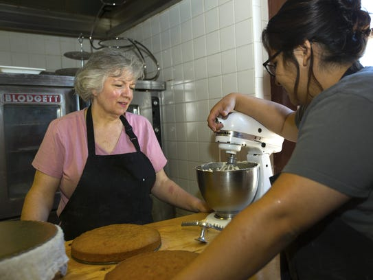 Si Italian Bistro owner and Baker Marybeth Higgins,