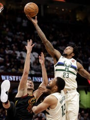 Sterling Brown, who hopes to develop into a 'three-and-D'