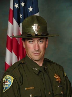 Montana Highway Patrol Trooper Matt Erickson.