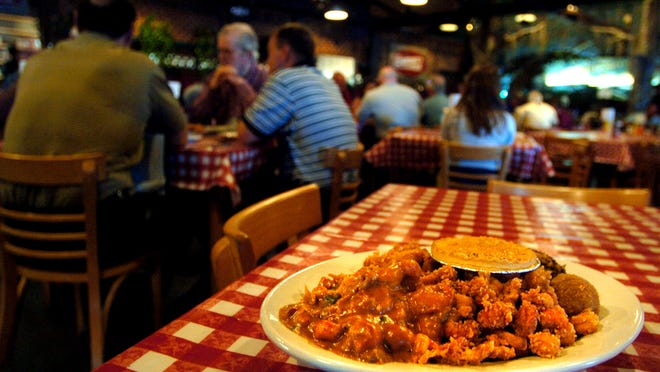 This crawfish festival platter from Prejean's could be one of the dishes a group of food enthusiasts from across the world taste during a weekend food tour happening in October. Roadfood.com's Cajun Country Food Tour sold out in just three hours last week, faster than any of the previous food tours offered over the past decade.