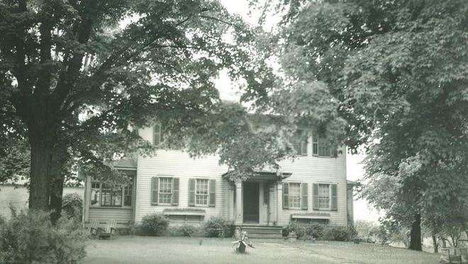 "This house at 757 Holt Road in Webster ""was the residence of someone renowned in the world of medicine,"" said Tom Pellett, Webster Museum and Historical Society president."