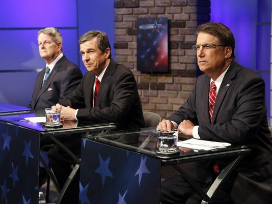 Governor 2016 North Carolina Debate