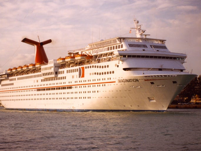 Cruise Ship Tours Carnival Cruise Line S Carnival Imagination
