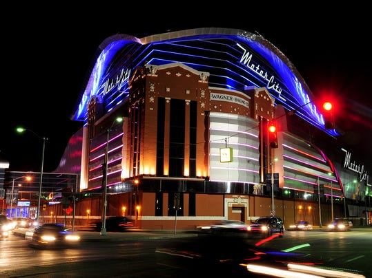Greektown mgm grand and motorcity casinos in detroit for Motor city hotel casino
