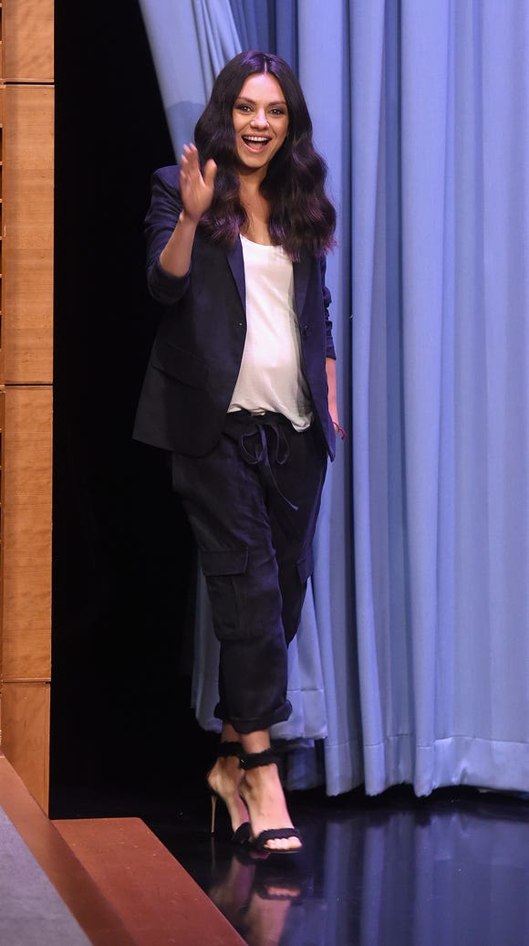 Kunis visiting 'The Tonight Show' on July 20.
