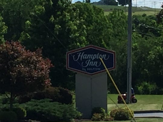 The Hampton Inn on River Street in Cortland was the site of an armed standoff on May 25, 2015.